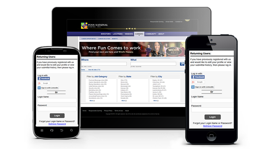 iCIMS Mobile-optimized career sites